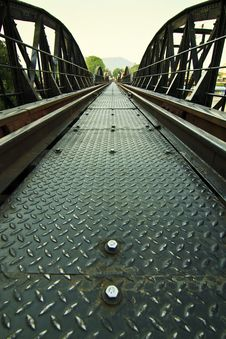 Free Metal Railway Bridge Stock Images - 18751444