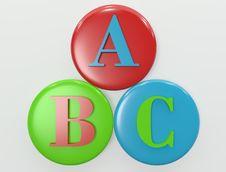 Free Alphabetical Royalty Free Stock Photo - 18752055