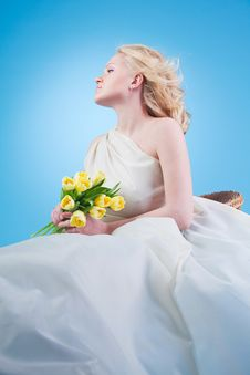 Free Young Beautiful Woman Royalty Free Stock Photo - 18752115