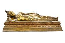 Free Camp Sleeping Buddha Royalty Free Stock Photo - 18752775