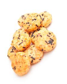 Free Japanese Rice Crackers With Nori Stock Photos - 18753023