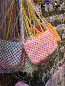 Free Bead Bags Royalty Free Stock Images - 18753759