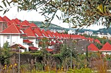 Free Gabled Red Roofs Stock Photos - 18754343