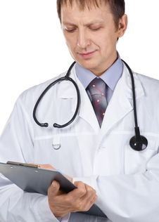 Free Portrait Of Handsome Male Doctor Stock Photography - 18754512