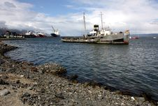 Free Ushuaia Harbour, Argentina Stock Photography - 18755752