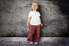 Free The Small Child Royalty Free Stock Photography - 18756527