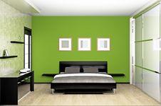 Free Bedroom Stock Image - 18757241