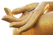 Free Big Buddha S Hand Stock Image - 18757271