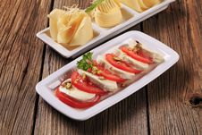 Cheese Appetizers Stock Photos