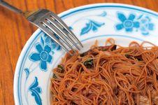 Free Oriental Vegetable Bee Hoon Royalty Free Stock Photo - 18757555