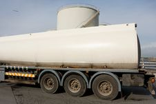 Free Truck With Fuel Tank Stock Image - 18757671