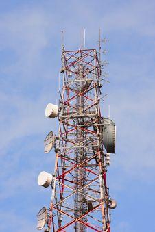 Free Telecommunication Tower Stock Photos - 18757673
