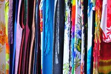 Free Thai Silk Royalty Free Stock Photo - 18757995