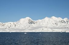 Cuverville Island Antarctica Royalty Free Stock Photography