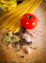 Free Pasta And Red Tomato Royalty Free Stock Photos - 18764308