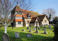 Free An English Village Church And Tower Royalty Free Stock Photography - 18765887