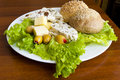Free Light Mediterranean Lunch Royalty Free Stock Photography - 18768707