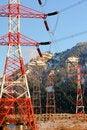 Free Bonneville Dam Power Line Towers, Pylons Stock Photography - 18769372