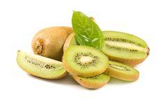 Free Fresh Kiwi Isolated On White Royalty Free Stock Image - 18760116