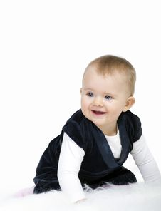 Free Cute Toddler Portrait Royalty Free Stock Photos - 18760308