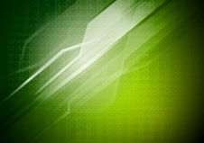 Free Green Technical Background Royalty Free Stock Image - 18761066