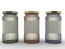Free Three Jars Of Different Glasses №1 Stock Photo - 18761210