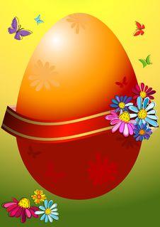 Free Easter Frame Royalty Free Stock Photos - 18761518
