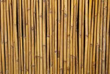 Free Fencing Bamboo Panel Stock Photo - 18761860