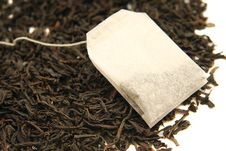 Free Tea Leaves With Teabag Royalty Free Stock Photo - 18763195
