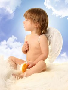 Free Angel In Haven Royalty Free Stock Image - 18763196