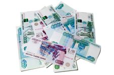 Free Small Pile Of Rubles Royalty Free Stock Photos - 18763208