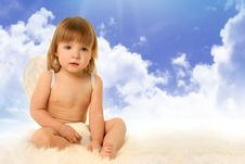 Free Angel In Haven Stock Photography - 18763212