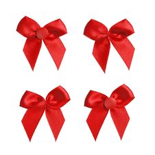 Free Red Bow Royalty Free Stock Photography - 18763507