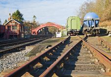 Free Traditional Railway Stock In A Siding Royalty Free Stock Images - 18763839
