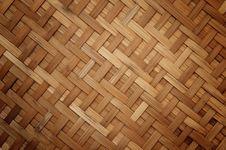 Bamboo Handycraft Stock Photo