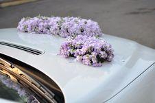 Free Wedding Car Flowers Royalty Free Stock Image - 18764326