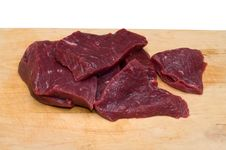Free Piece Of Beef. Royalty Free Stock Photography - 18765647