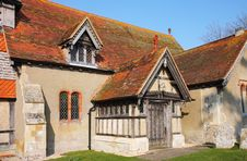 Free An English Village Church Entrance Royalty Free Stock Photo - 18765845