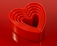 Cookie Cutters Stock Image
