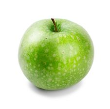 Free Ripe And Juicy Green Apple A Shank Upwards Isolate Royalty Free Stock Photo - 18766545