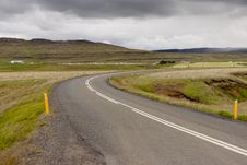 Free Empty Route - Iceland Stock Image - 18766851