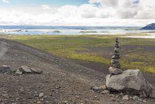 Myvatn Landscape - Iceland Royalty Free Stock Images