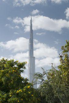 Burj Dubai Stock Photo