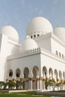 Free Grand Mosque Royalty Free Stock Photos - 18768858