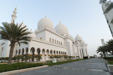 Free Grand Mosque Stock Photography - 18768882