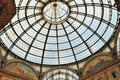 Free Glass Gallery - Galleria Vittorio Emanuele Royalty Free Stock Photography - 18771707
