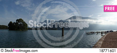 Free The Alpine Landscape Stock Image - 18771601