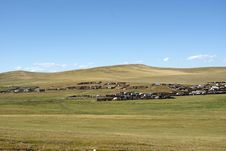 Free Landscape In Mongolia Stock Photo - 18770900