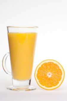 Free Refreshing Fresh Home Made Orange Juice Drink Stock Photography - 18771172