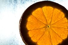 Free Cutted Orange Stock Images - 18771224
